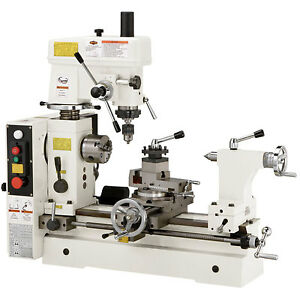 Shop Fox M1018 110v 3 4 Hp Combo Lathe Mill Small