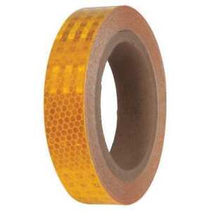 Reflective Marking Tape roll 1 2in W pk2 Zoro Select 24wg41