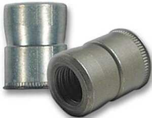 8 32 0 030 To 0 187 Clear Cadmium Steel Swaged Rivet Nut 100 Pk