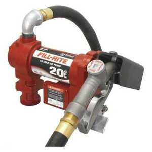 Fuel Transfer Pump 20 Gpm 1in Hose Dia Fill rite Fr4210gb