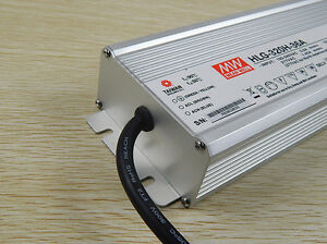New Mean Well Hlg 320h 36a 36v 8 9a Led Driver Waterproof Dimmable Outdoor