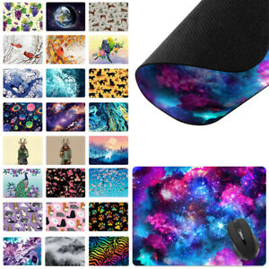 X large Rectangle Mouse Pad Non slip Mixed Design For Home Office Gaming Desk