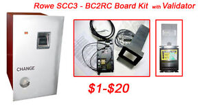 Rowe Bc2rc scc3 Bill Changer Kit With Validator Mei 1 20