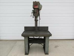 Powermatic Model 1200 Variable Speed Drill Press 40 X 24 Table 1 Hp 3 Phase