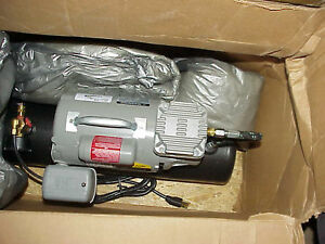 Thomas 160205 Air Compressor 1 12 Hp 60 Psi 1725 Rpm 115 V 1 Ph 2 Gal Ca