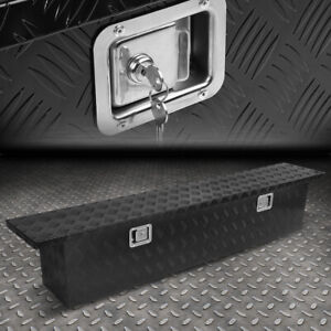 69 x12 x13 75 Aluminum Pickup Truck Trunk Bed Tool Box Trailer Storage W lock