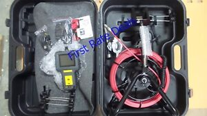 General Dps16 Pipe Inspection Borescope W 72 Ft Probe Video Camera Sewer Water