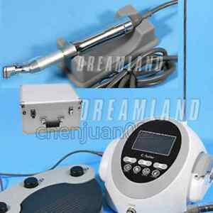 Coxo Brushless Dental Implant Drill Motor System Reduction 20 1 Contra Angle xl