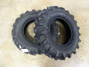 Two New 7 12 Goodyear Dyna Torque Ii Tractor Tires 4 Ply Tl Replaces 185 80d12
