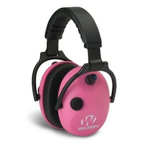 Walker s Gwp ampkcarb Alpha Electronic Power Muffs 50db Pink