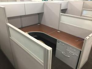 Used Office Cubicles Hon Initiate Cubicles 6x8