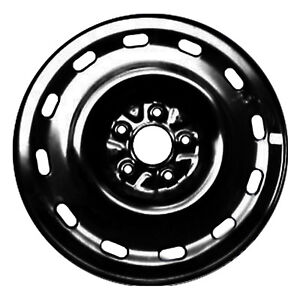 03536 Refinished Ford Crown Victoria 2004 2011 16 Inch Black Steel Wheel Rim