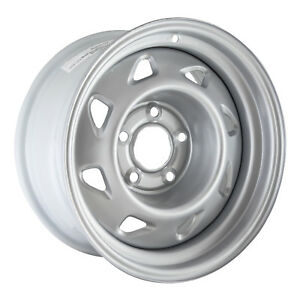 05030 Refinished Chevrolet S10 Truck 4x2 1994 2004 15 Inch Silver Steel Wheel