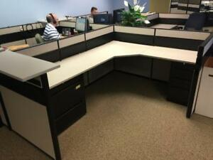 Used Office Cubicles Global Contract Cubicles 6x8