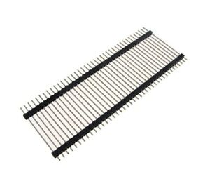 1x40 Pin 2 54mm Double Body Male Straight Header 35mm Height