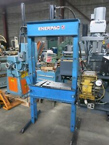 Enerpac 30 Ton Electric Hydraulic Press 1 Phase