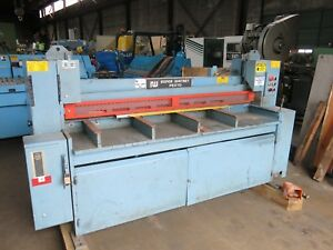 Roper Whitney Pexto 10h6 Hydraulic Shear 6 Of 10ga