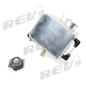 Aluminum Expansion Overflow Reservoir Coolant Tank For Mini Cooper 02 up All