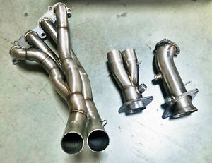 Megan Stainless Steel Header Exhaust Fits Rsx 02 06 Base Civic Si Mr Ssh Ar02 V2