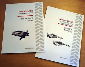New Holland 488 Haybine Mower Conditioner Operator s And Service repair Manual