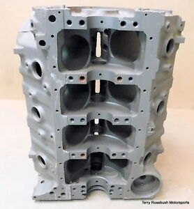 Gm 3999293 Chevy Bb 366ci Bare Truck Block Dated H 23 1972 4 bolt Tall Deck