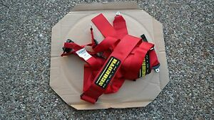 Porsche Oem Single Red 6 Points Seat Belt Pretensioner For 911 Boxster Cayman