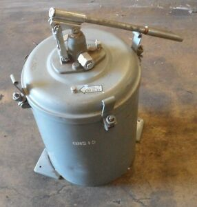 Graco Grease Pump Bucket 4930 00 244 4859 Part Number 41g1420 25