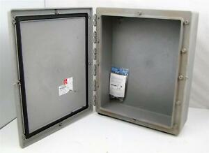Thomas Betts Carlon Circuit Safe Enclosure 24x20x7 1 2 C2420a4