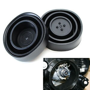 Universal Sealed Opening Rubber Housing Cover Caps For Headlamp Install Led Kit