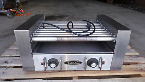 Star Hot Dog Roller Model 25 Cooker Grill Countertop Fitting 27 Hot Dogs
