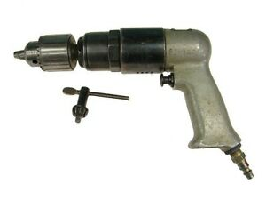 Rockwell 725 Rpm Pneumatic Drill 1 2 Chuck Aircraft Tools Air Drill