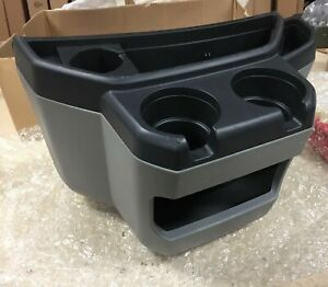 97 15 Ford Econoline Van Gray Center Console Cup Holder