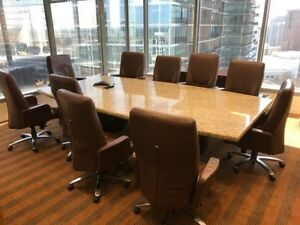 Used Office Furniture Used Conference Room Table
