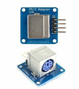 Adapter Ps 2 Ps2 Keyboard Keypad Module For Arduino New