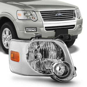 2006 2010 Ford Explorer Headlight Headlamp Replacement Factory Rh Passenger Side