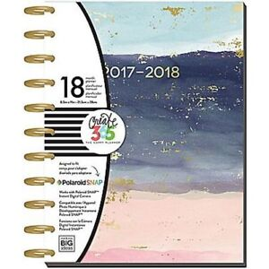 Create 365 Tranquility Large The Happy Planner 18 Month 2017 2018 Free Ship