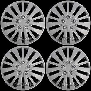 15 Set Of 4 Wheel Covers Full Rim Snap On Hub Caps Fit R15 Tire