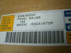 Daewoo Panel Gauge S200w Excavator 2539 9023a 25399023a Factory Sealed Box