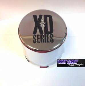 Xd Series Enduro Diesel Full Chrome Wheel Replacement Center Cap Part 1001356