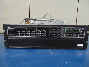 Microwave Radio Communications mrc Diversity Switch power Supply Included rh70