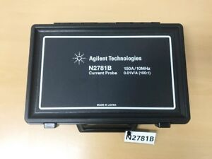 Agilent N2781b 150a 10mhz 0 01v a 100 1 Current Probe