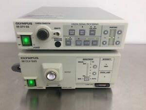 Olympus Otv s5 Camera Processor Clv s20 Light Source