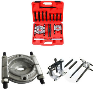 14 pcs Bearing Separator Puller Set 2 3 Splitters Remove Bearings Tool Set