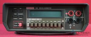 Keithley 580 Micro ohmmeter calibrated
