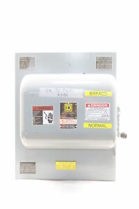 Square D 92444 Double Throw 4p Disconnect Switch Ser E1 200a Amp 600v ac D582765
