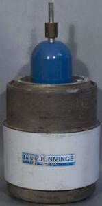 Jennings Technology Cvhp 650 45s Vacuum Variable Capacitor 30 650 Pf 45 Kv