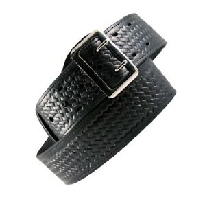 Boston Leather 6501 3 44 Black Bw Lined 2 25 Sam Browne Duty Belt 44