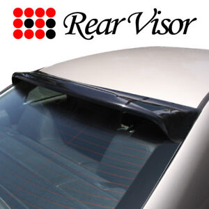 Fit 06 11 Honda Civic Sedan Rear Roof Window Visor Sun Wind Deflector Spoiler