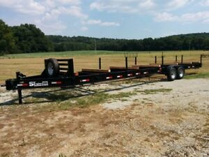 New 36 Pipe Hauler Trailer 14 000 Gvw heavy Duty Construction