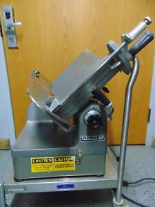 Hobart 1712e Automatic Commercial Deli Slicer Good Condition S2981